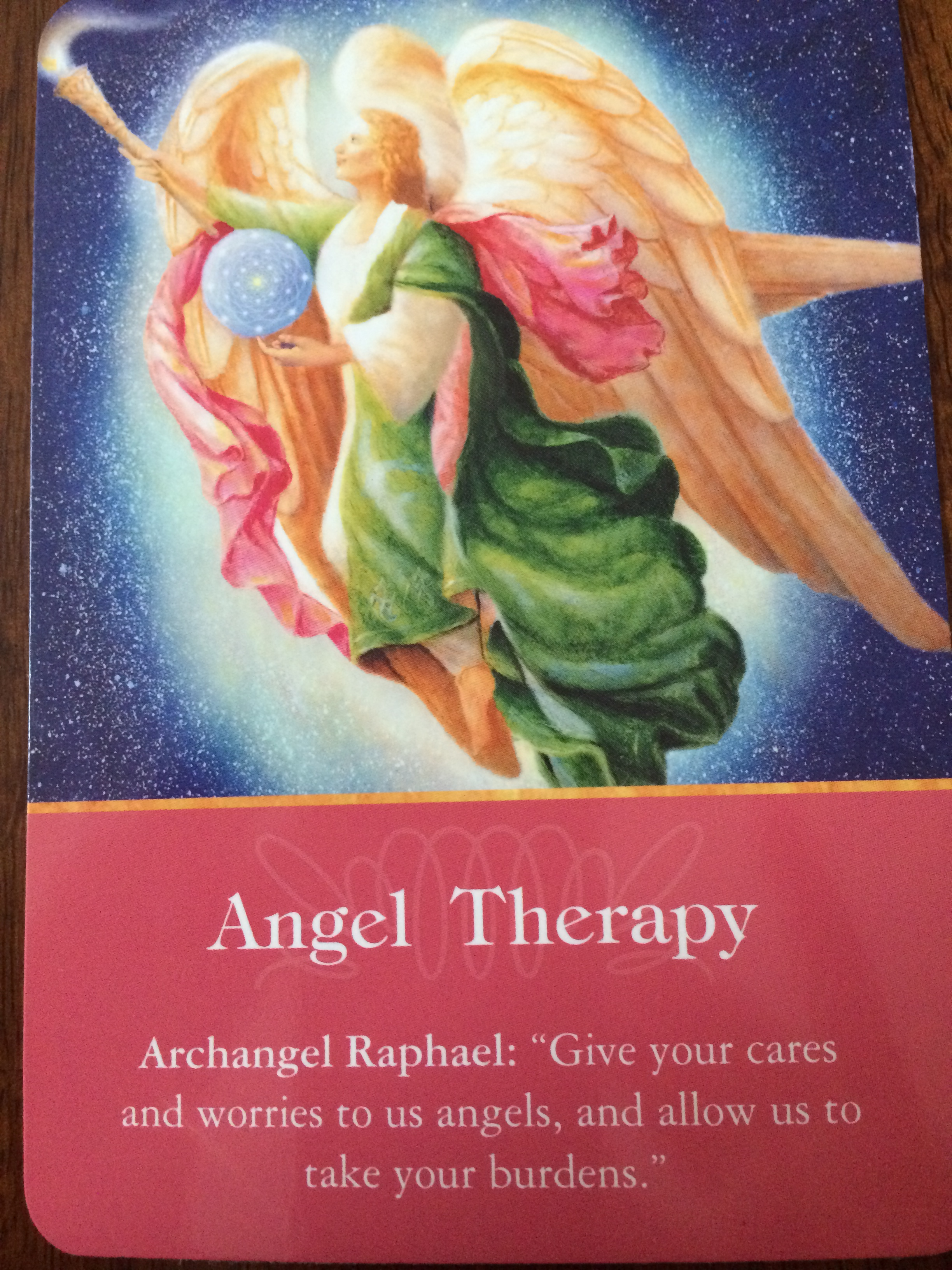 Archangel Oracle Divine Guidance: Archangel Oracle Cards Angel Therapy