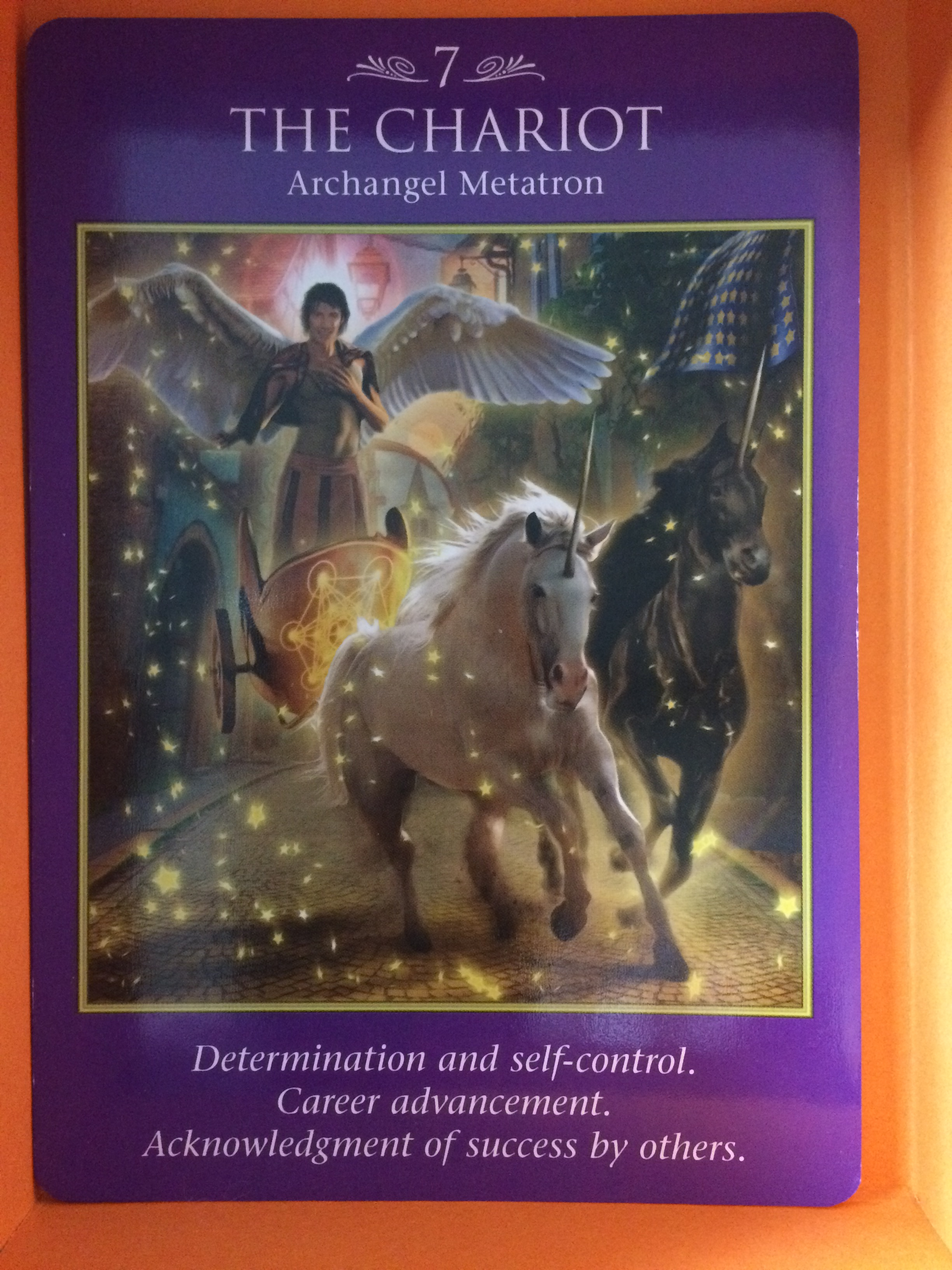 Archangel Power Tarot Cards The Chariot