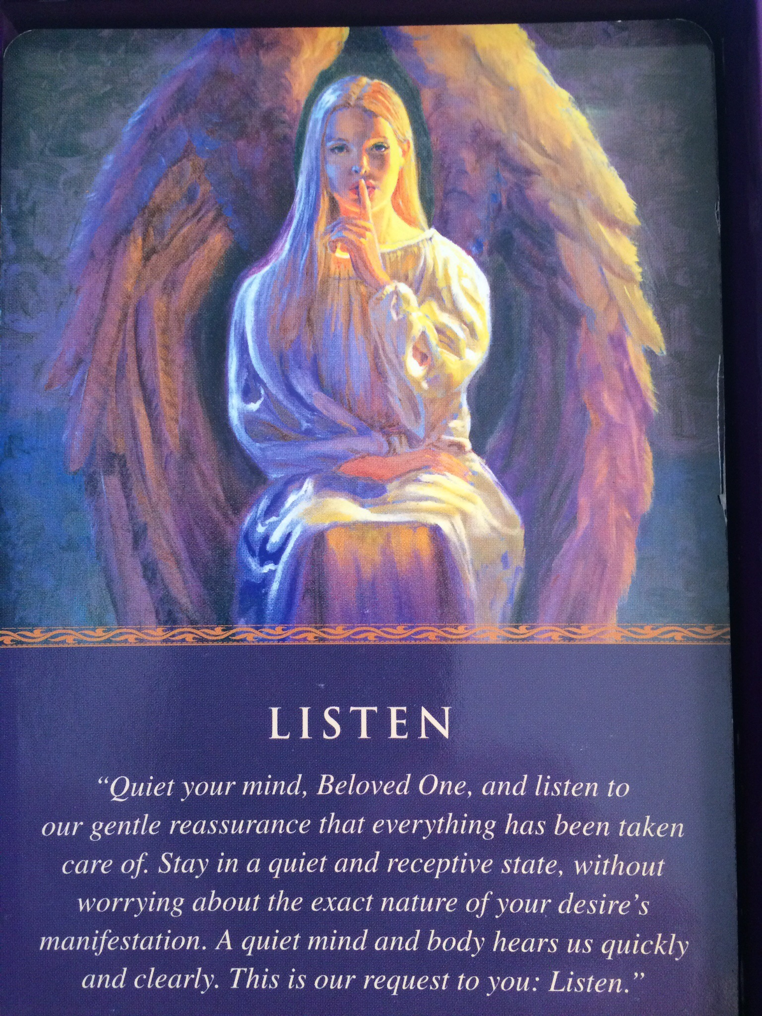 Daily Angel Oracle Card Celebration From The Guardian: Daily Guidance From Your Angels Listen