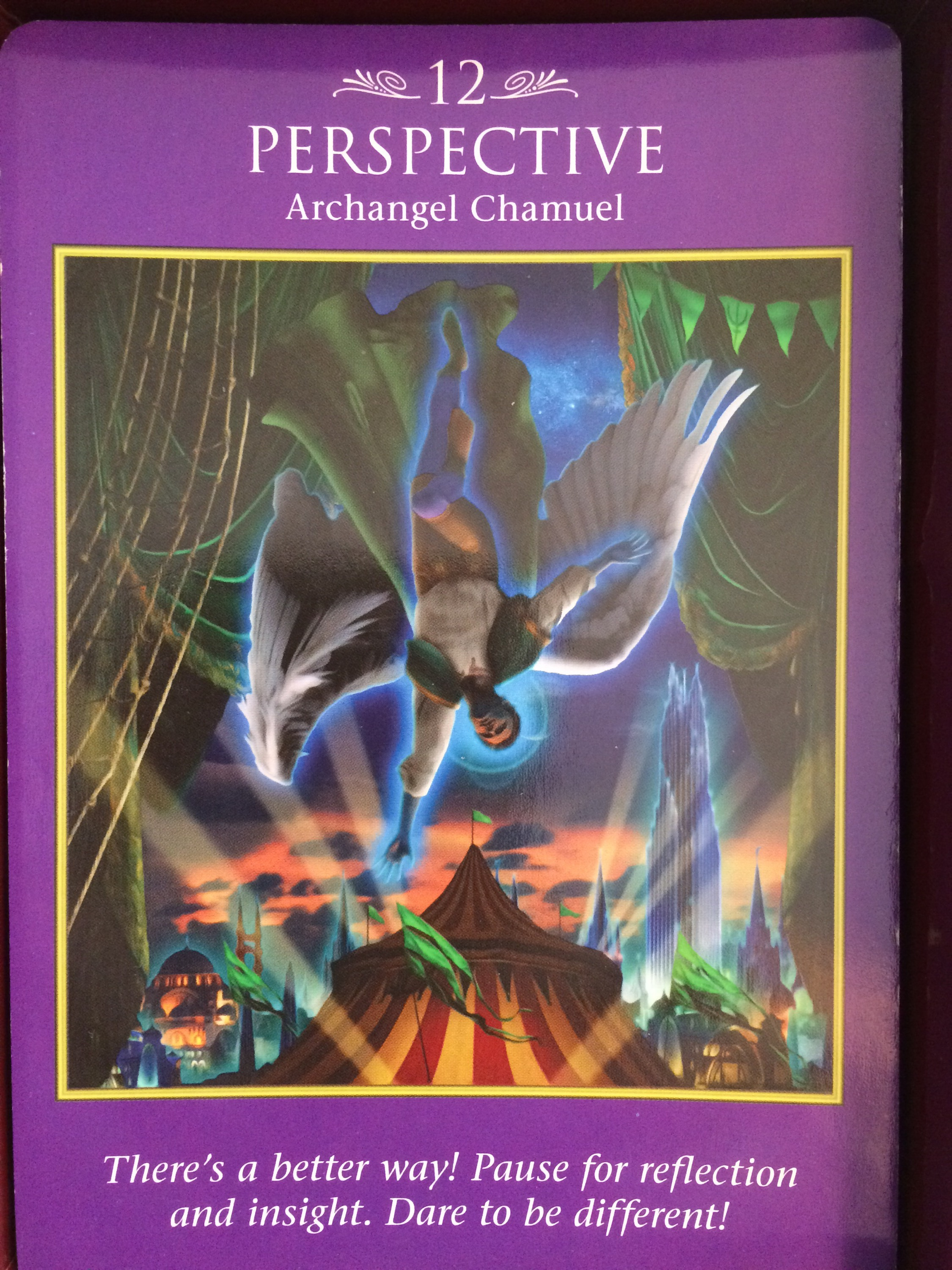 Archangel Power Tarot Cards Perspective