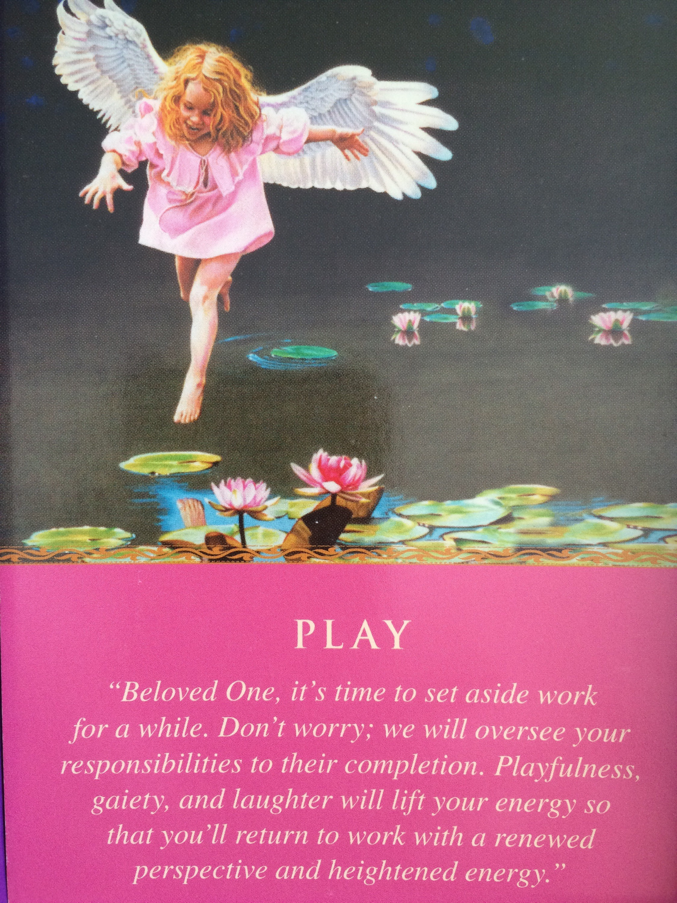 Daily Angel Oracle Card Celebration From The Guardian: Daily Guidance From Your Angels Play