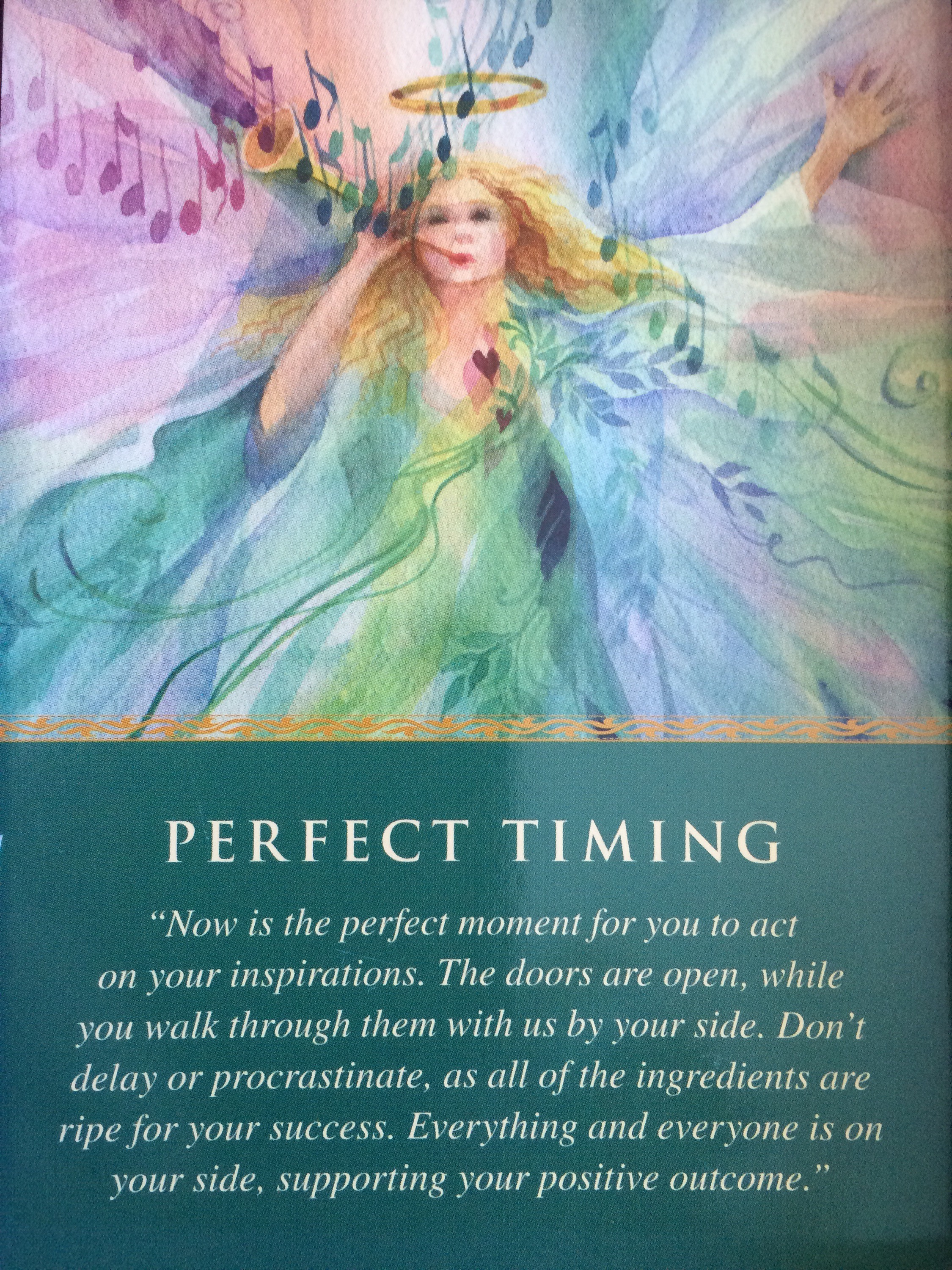 Daily Angel Oracle Card Celebration From The Guardian