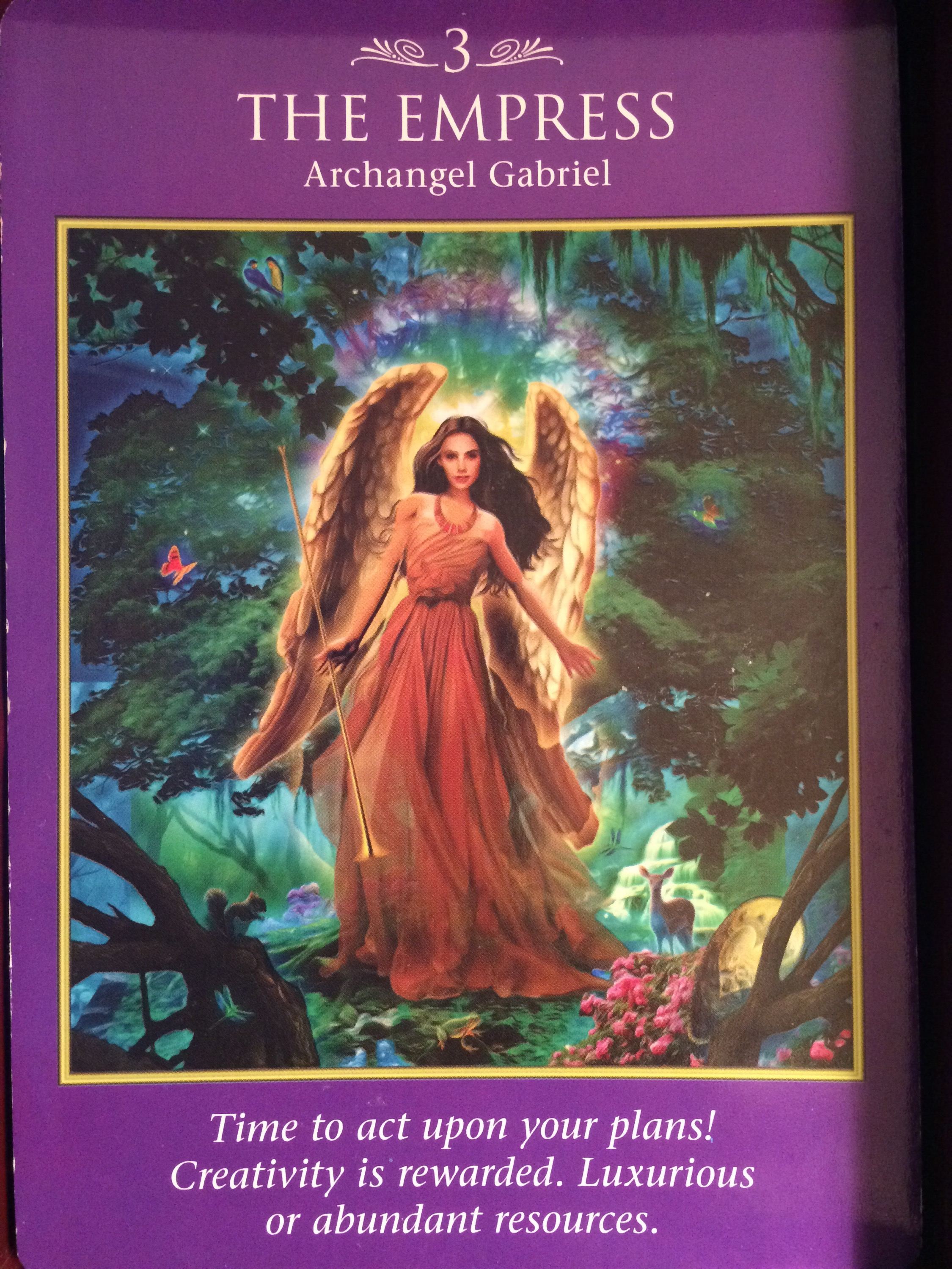 The Empress And Death Antique Tarot Cards: Archangel Power Tarot Cards The Empress