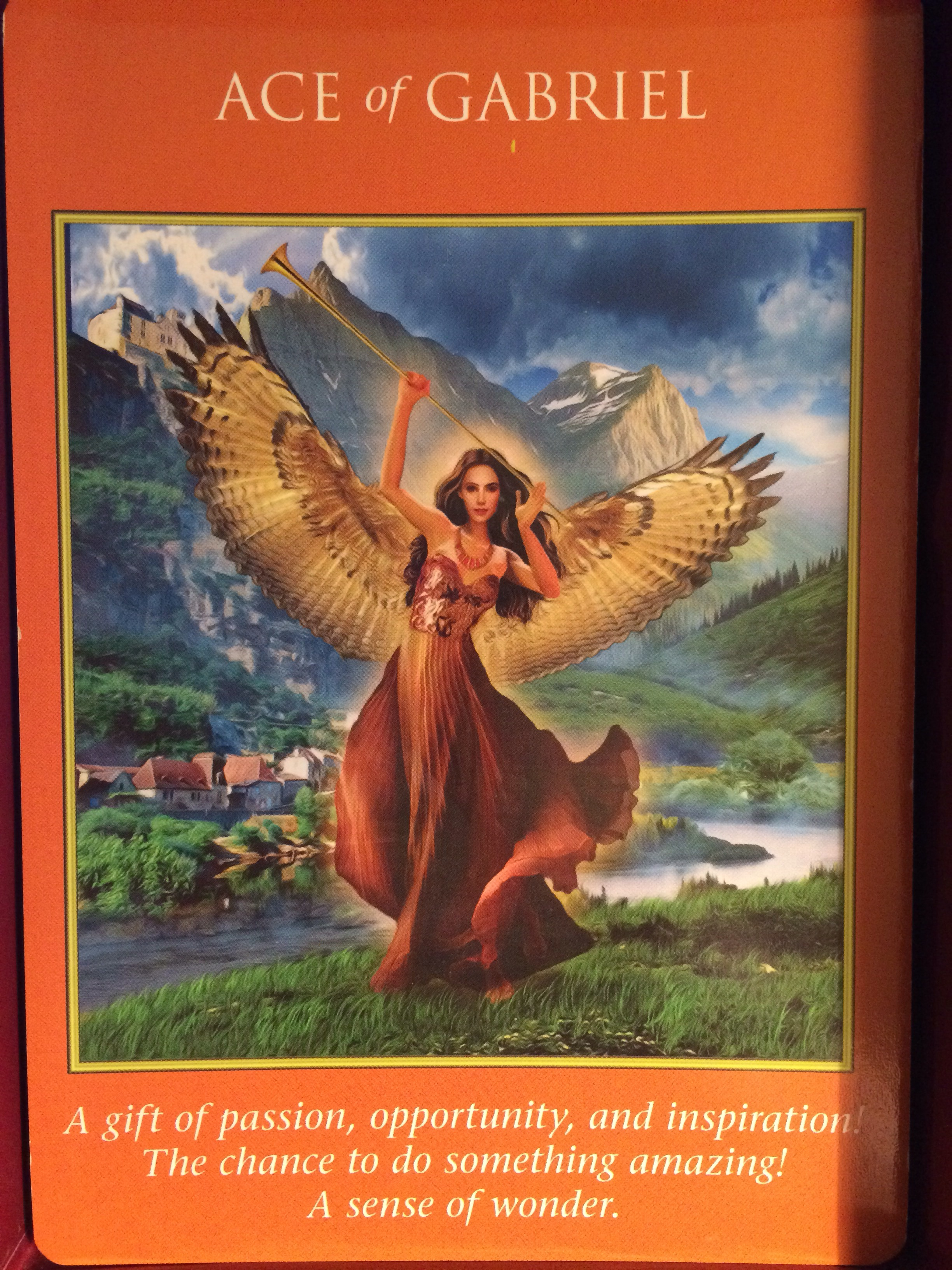 Archangel Power Tarot Cards Ace Of Gabriel