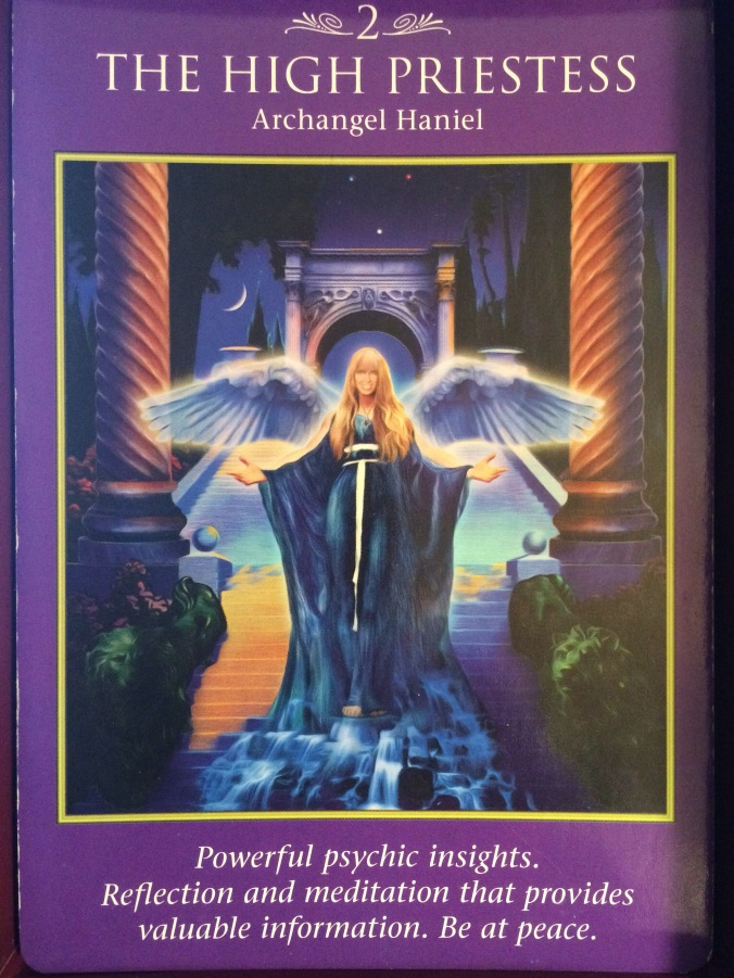 Archangel Power Tarot Cards The High Priestess